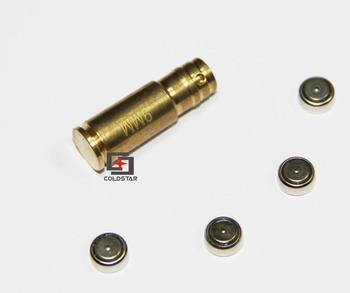 9mm Laser Bore Sight Red Laser Dot Boresighter Bore Sight Caliber Cartridge Boresight Hunting for Handguns Rifle