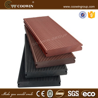 Natural wood color and free sample of plastic wood garden fence panels