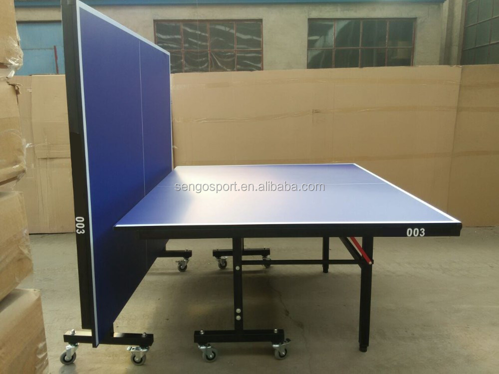 best sale indoor folding legs ping pong table 18mm mdf table tennis table - Ping Pong Tables For Sale