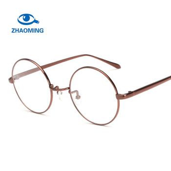4fb08e07b3b 2018 new full rim gold cheap metal frame glasses eyewear frame china nerd  men thin fashion