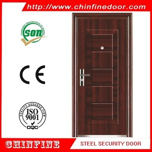cold-rolled steel sheet security door with low price