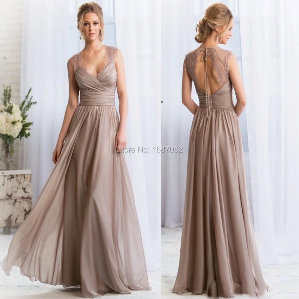 Matron of Honor Long Dresses