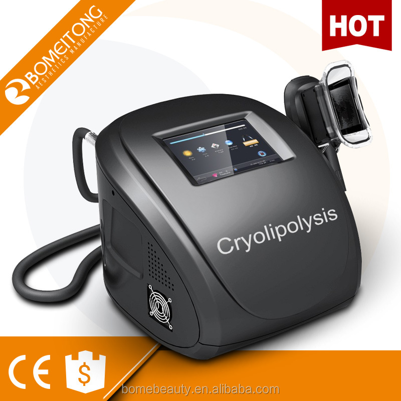 Portable cryotherapy cryolipolysis celulite machine for home