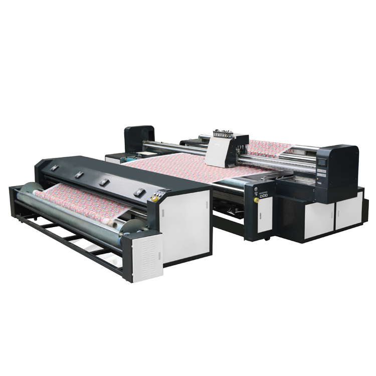 Drukpersen 100 katoen stof digitale direct textiel printer