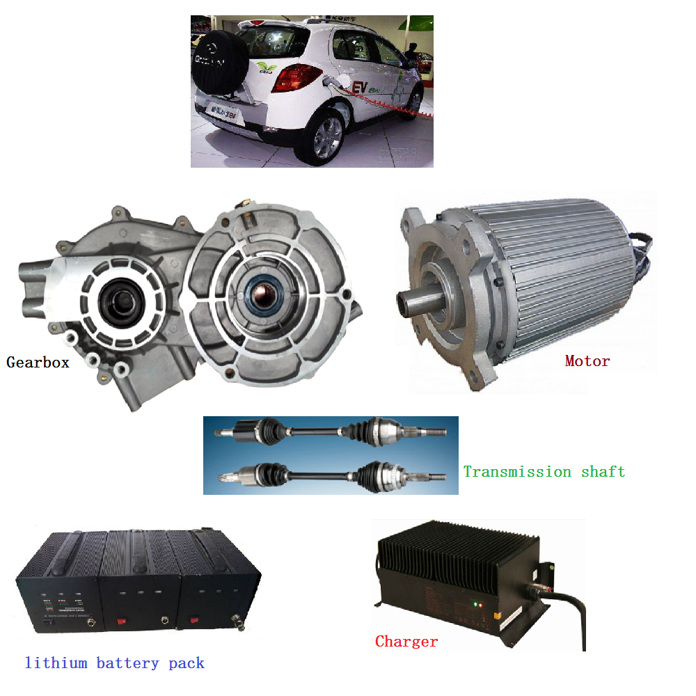 Shinegle 10kw 96v 15kw 30kw Electric Vehicle Electric Car