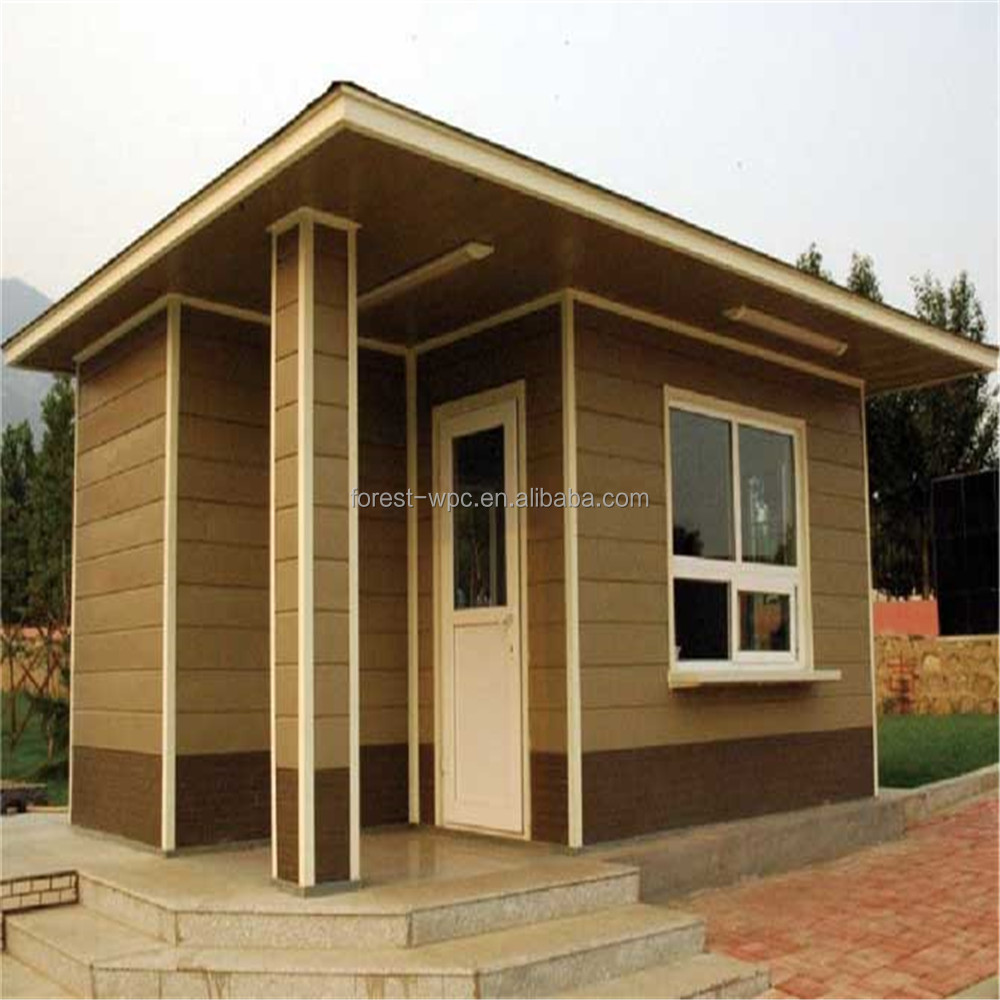 Barato sandalias de madera del wpc de la cabina fumar - Casas de madera pequenas y baratas ...