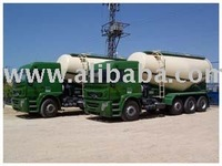 Cement Tanker Over Truck