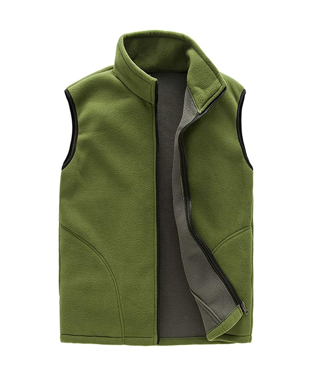 newrong Mens Button Down Business Suit Vest