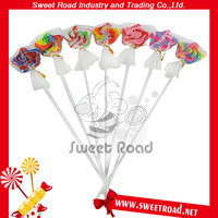 12g Colorful Star Shape Lollipop Candy Stick with Fruit Flavor