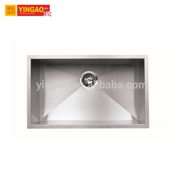 Rectangle large kitchen sink stainless steel sinks