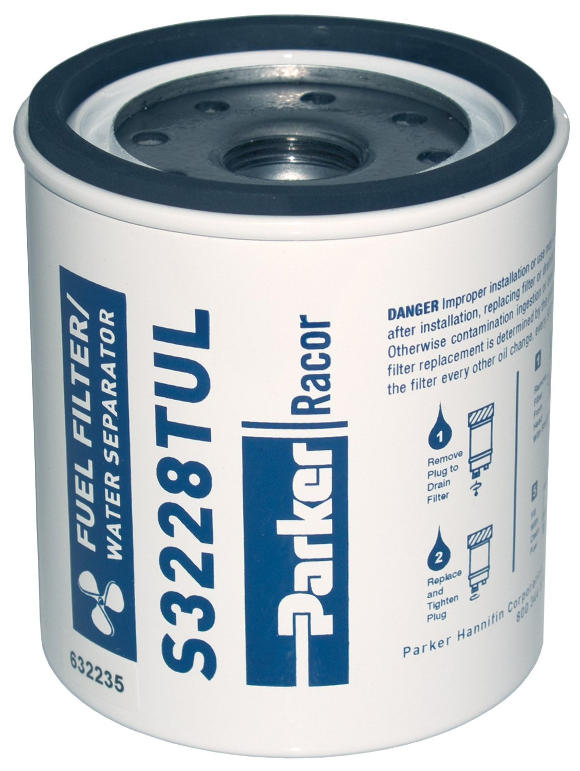 Get Quotations · Racor Spin-On Fuel Filter/Water Separator Element S3228TUL  (for 320R-RAC