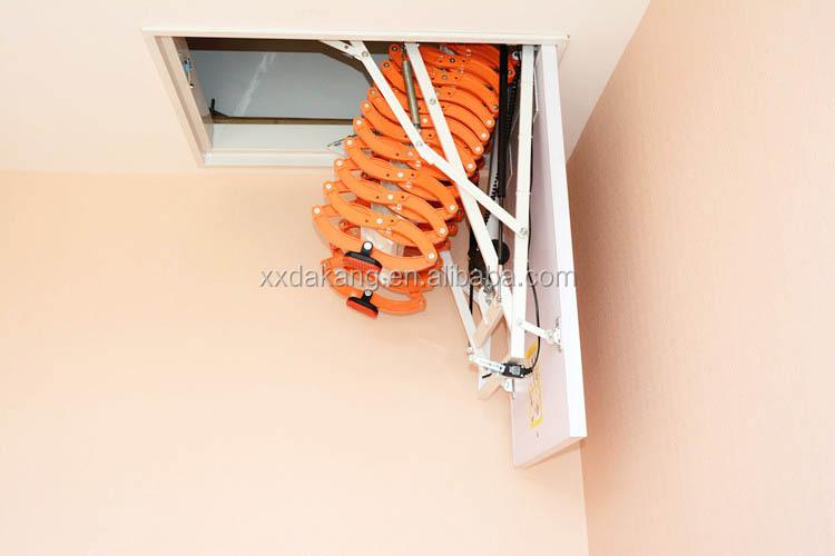 Plegable de aluminio escaleras escamoteables escaleras for Escalera de aluminio plegable
