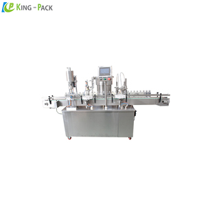 Large volume 1L olive oil filling machine, oil screwing and capping equipment
