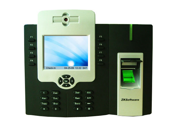 With Backup Batterry Fingerprint Time Attendance with Camera (FAC880)