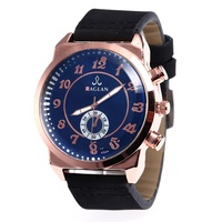 Hot Products Men's Watch Luxury Brand Quartz Leather Numbers Military Wristwatch montre femme LW195