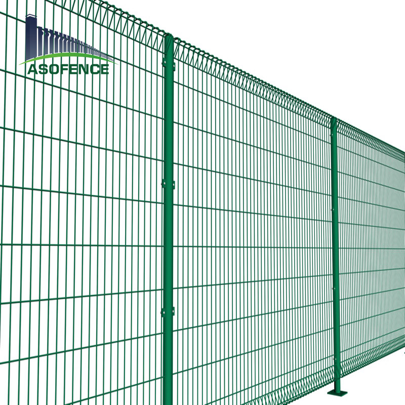 Hot Dipped Galvanized Brc Welded Wire Mesh Fence Roll Top Wleded