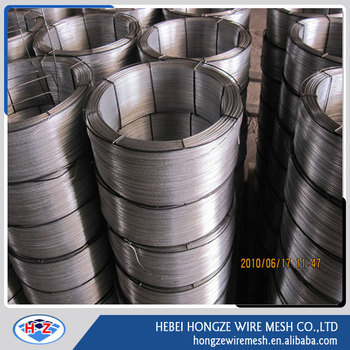 Guangzhou Factory Galvanized iron binding soft shiny color BWG8-22 Hot dipped wire(Guangzhou factory)