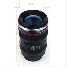 400ml Creative Camera Coffee Mugs Stainless Steel Lens Travel Mug Vacuum Flasks Thermocup Novelty Gifts Camera Lens Mug