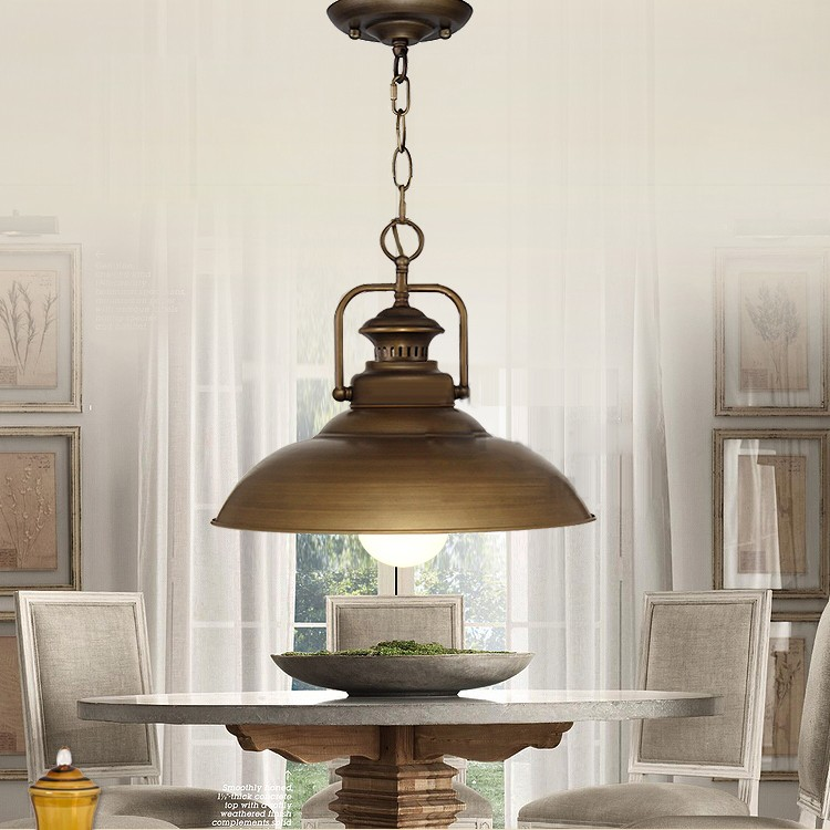 Customized metal antique brass lamp shade for decorate home
