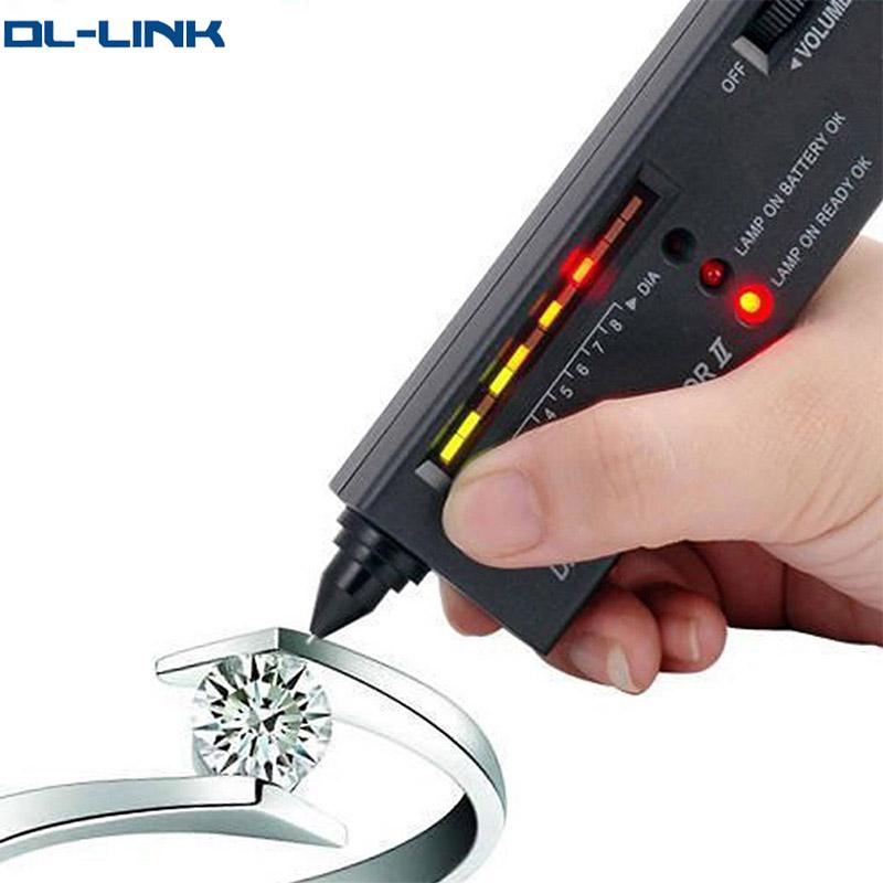 d/étecteur de s/électeur de gemme de diamant de diamant de haute pr/écision portatif de bijoux appareil de contr/ôle professionnel de diamant de bijoux de LED