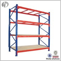 Guangdong manufacturer heavy duty storage palleting rack with plastic pallets