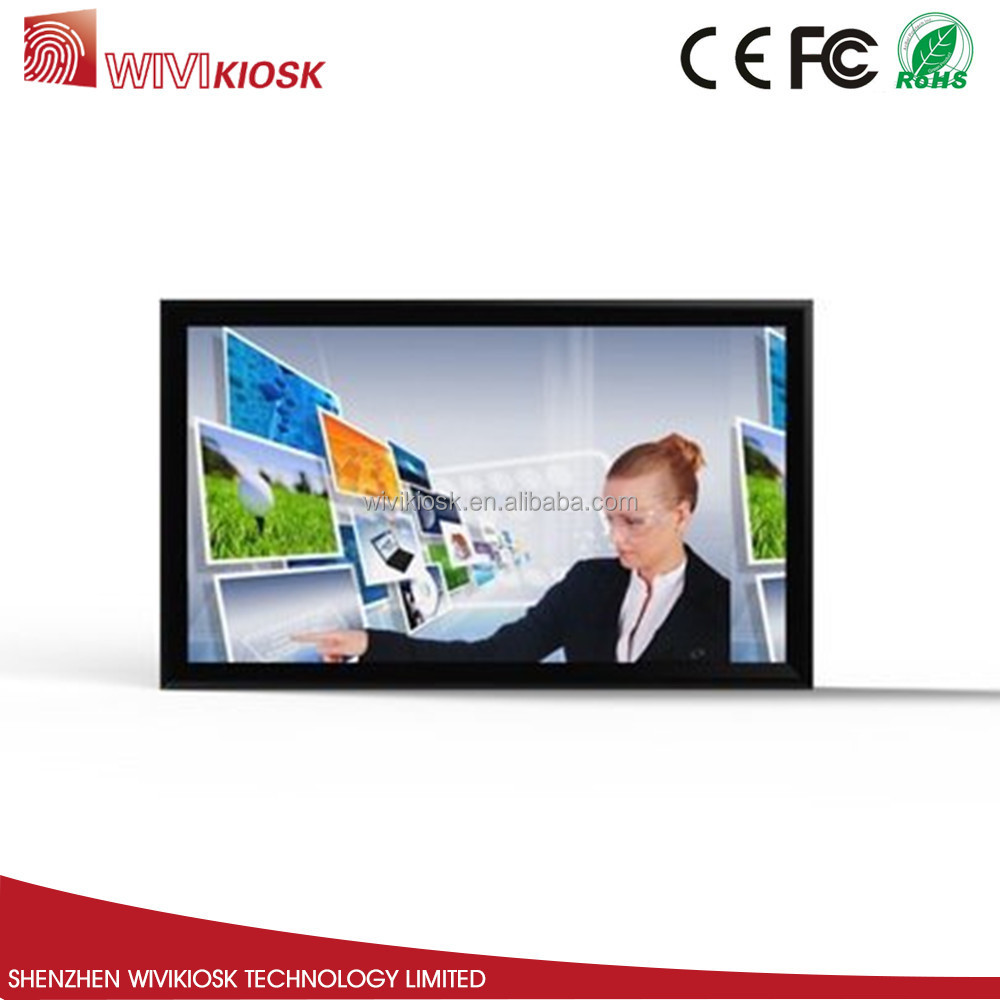 floor standing or wall mounted touch screen interactive whiteboard