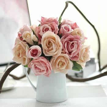 Luxury 9 heads wedding centerpiece silk flowers artificial roses luxury 9 heads wedding centerpiece silk flowers artificial roses bouquet mightylinksfo