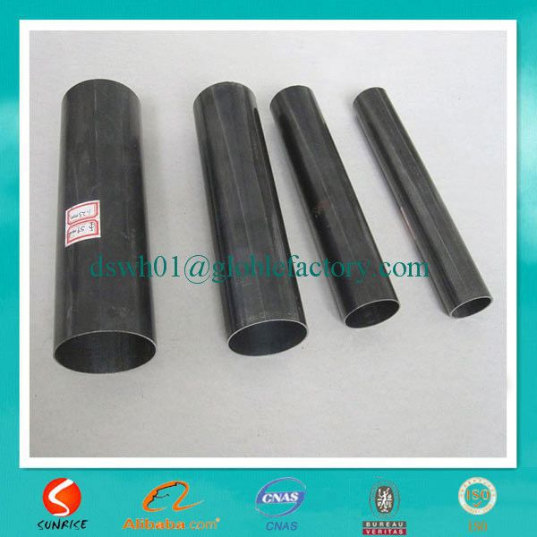 black annealed oval flat oblong elliptical steel pipe Made In China