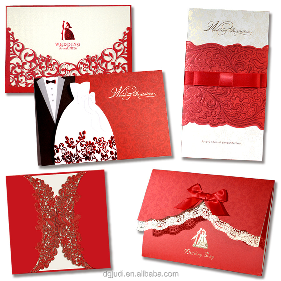 Wedding Invitation Greeting Card, Wedding Invitation Greeting Card ...