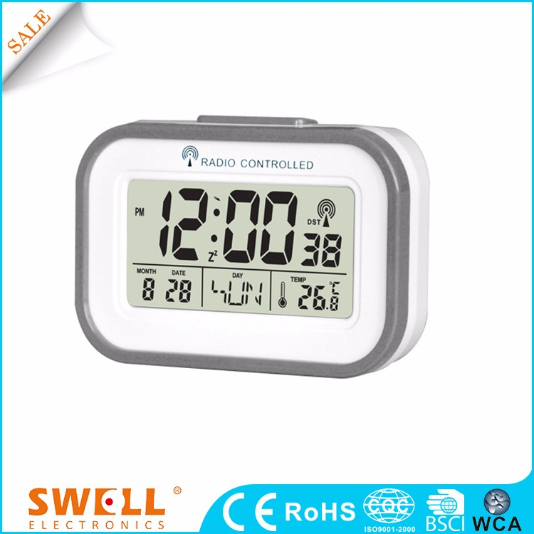 Best Radio Controlled Snooze Ceramic Table Clock