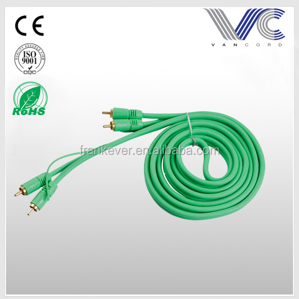 2R-2R Male to Male auto RCA CABLE China Manufacturer