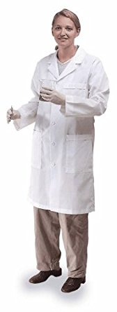 Meta 17010-011-S Labcoat, Fluid Resistant, Ladies, S