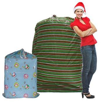 Super Jumbo Plastic Holiday Gift Bags For Birthday