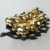 Artificial golden electroplated decorative eggs