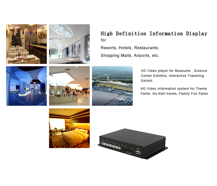 Full HD Push Button Optical HD-MI digital audio decoder 5.1 car media box video media player