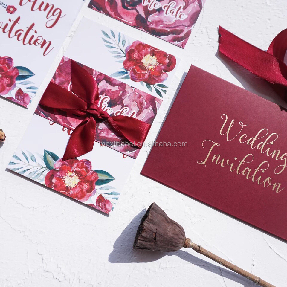 Sample Wedding Invitation Card Wholesale, Card Suppliers - Alibaba