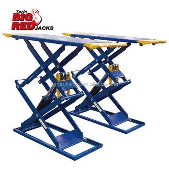 3 Ton Low Profile Hydraulic Scissor Parking Car Lift QJY30-CB