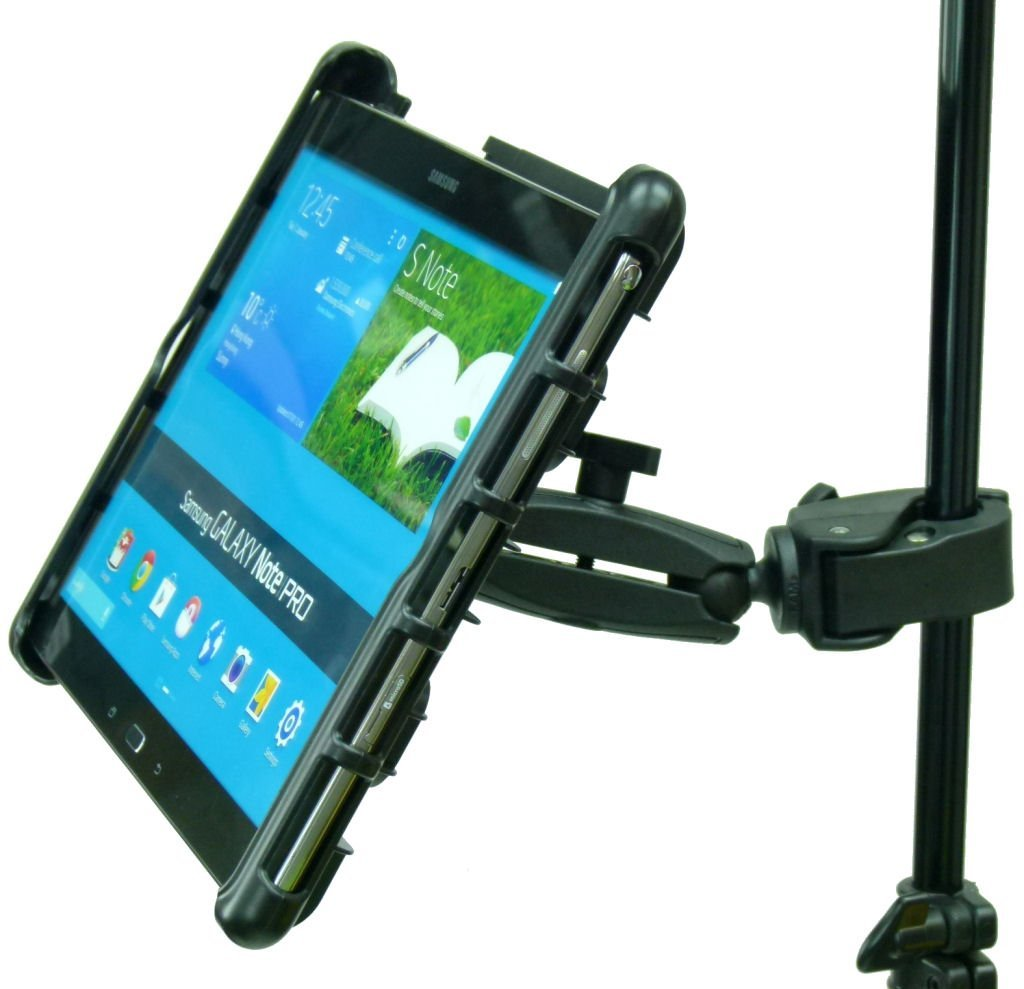 BuyBits Extended Music / Microphone / Gig Stand Holder Mount for Samsung Galaxy Note Pro