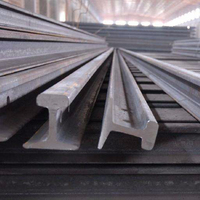 Wholesale 18kg/m light steel rail and railway track q235 material railway railway