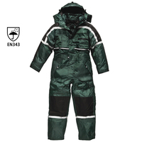 Workwear security uniform custom safety workwear winter coverall