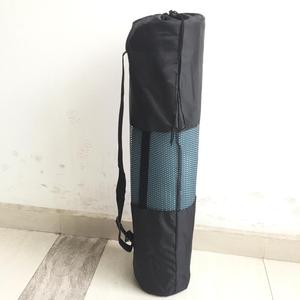 Wholesale Fancy Durable High Quality Sturdy Nylon Polyester Mesh Easy Carry Gym Yoga Mat Bag