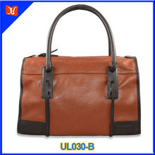 European and American style vintage genuine leather bag UL030-B apricot
