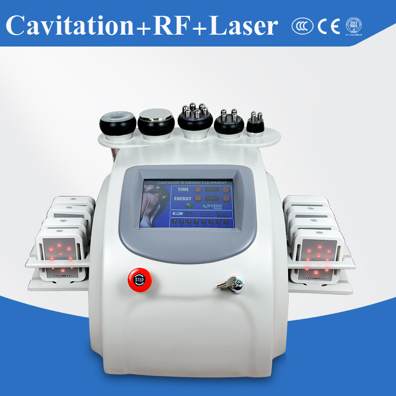 Best selling in Europe CE approved 8 paddles lipo laser cavitation vaccum rf weight loss machine for distributors