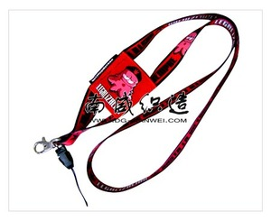 Newest Customized colored Heated Transfer Lanyard Wholesale