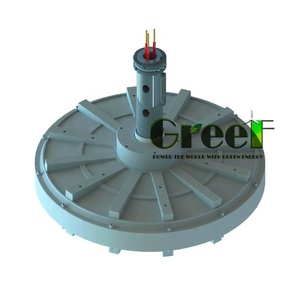 3kW Low RPM Axial flux coreless permanent magnet generator for vertical wind turbine