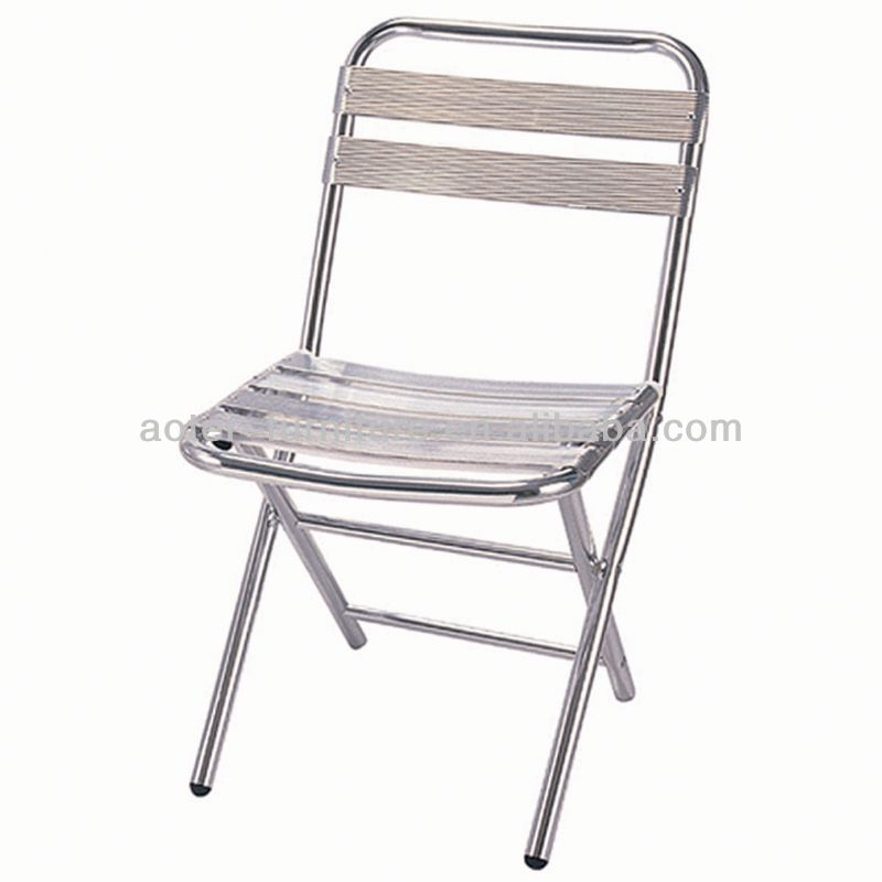 Garden outdoor folding aluminum rocking chairs