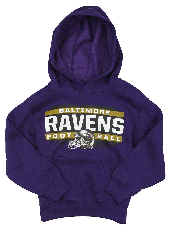 3550e6a8200 Baltimore Ravens NFL Little Boys Promo Fleece Hoodie