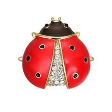 Enamel Ladybug Brooch, Enamel Ladybug Brooch Suppliers And Manufacturers At  Alibaba.com