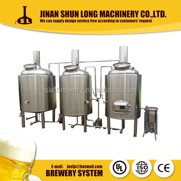 High Quality 100L 200L 500L Nano Brewery System Micro Brewing System