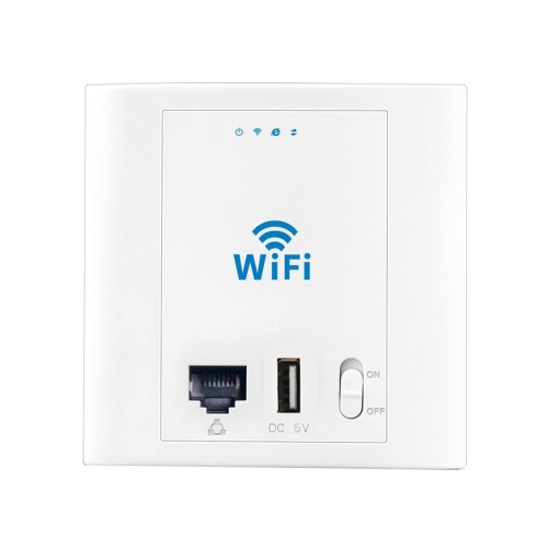 In Stock PW300U24 300Mbps Wireless Inwall Access Point, Ethernet port & USB Port (24V Version)